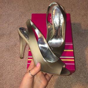 ombré slingback heels